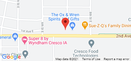 Directions to CIA Insurance in Cresco, IA